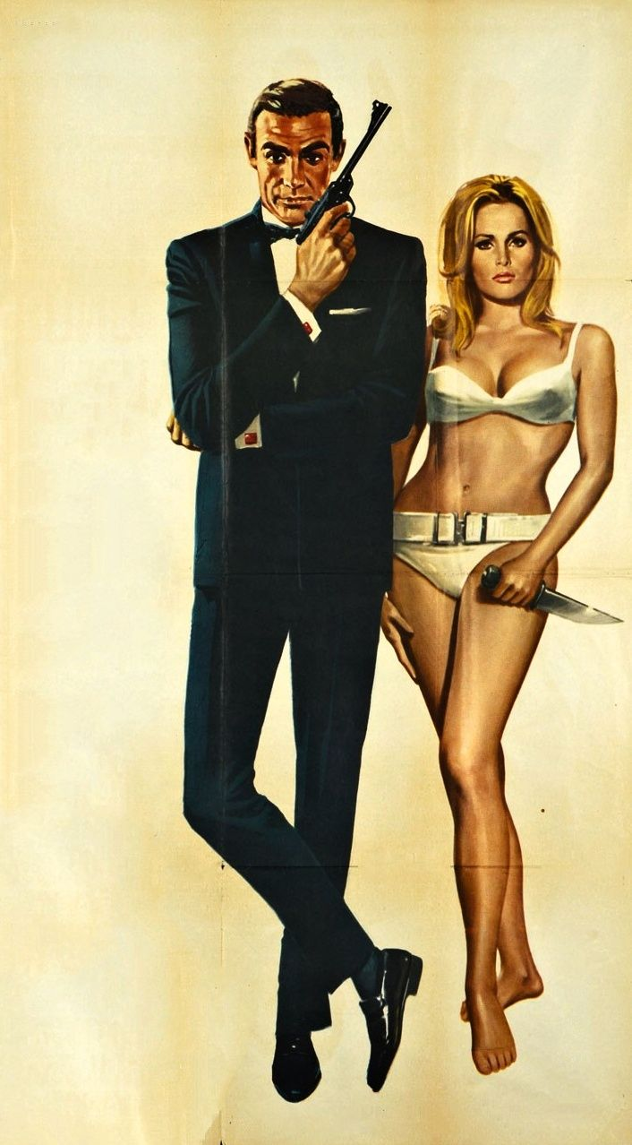 girlsattack: Sean Connery & Ursula Andress - Dr. No, 1962.