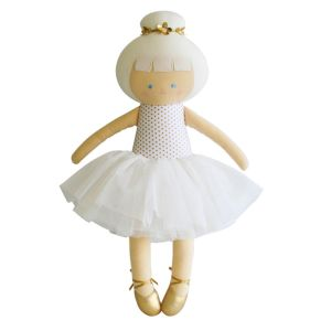 Alimrose – Big Ballerina Gold Spot 50cm Gorgeous! Big Ballerina doll with soft fluffy tulle tutu.