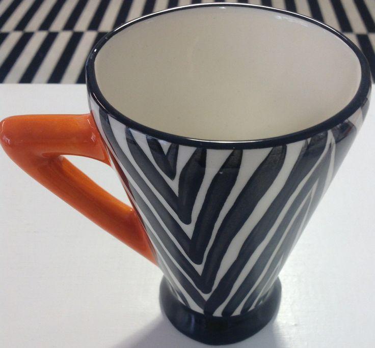 mug zebra to match with a cow mug!