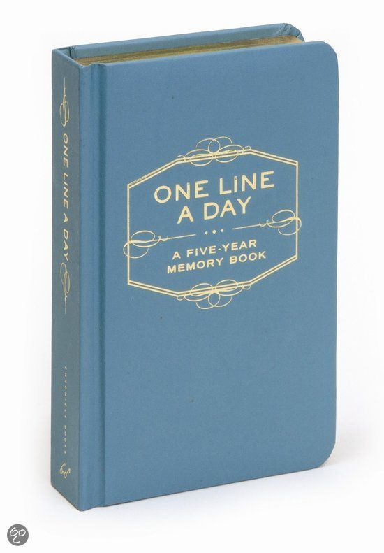 bol.com | One Line A Day, Chronicle Books | 9780811870191 | Boeken