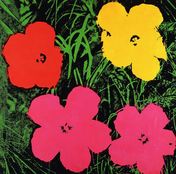25+ best ideas about Andy warhol flowers on Pinterest   Andy ...