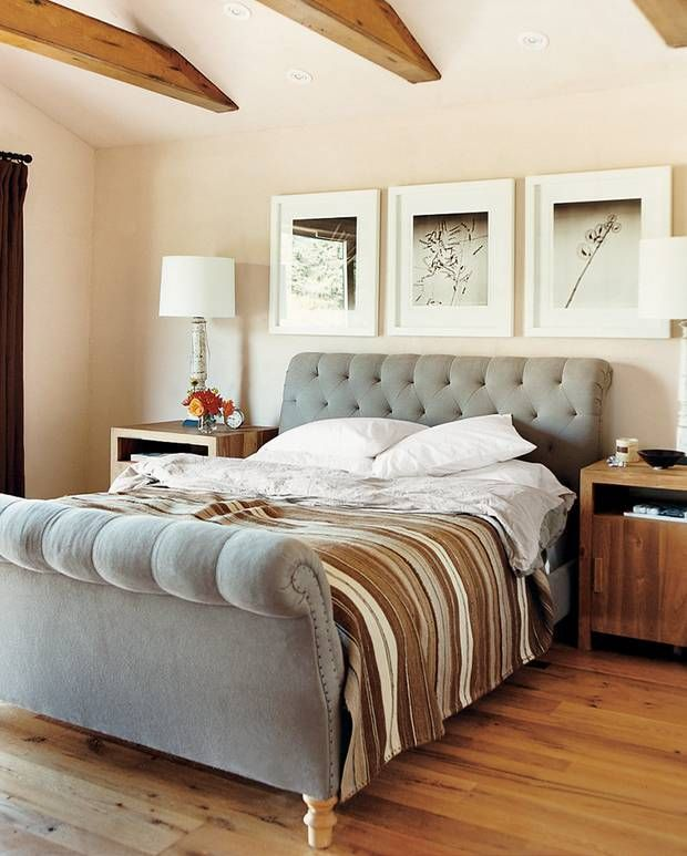 Gray and Taupe Bedroom