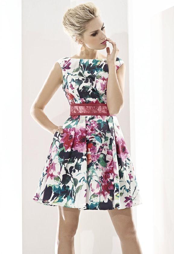 Cabotine Essential vestido con estampado floral nueva colección www.enriquepellejeromoda.com