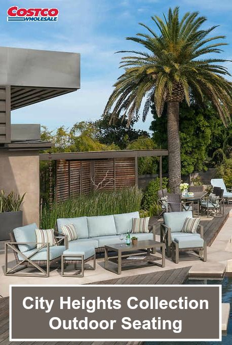 The City Heights 17 Piece Estate Collection By Mission Hills® Will Add  Modern Style And Traditional Comfort To Your Outdoor Living Space.