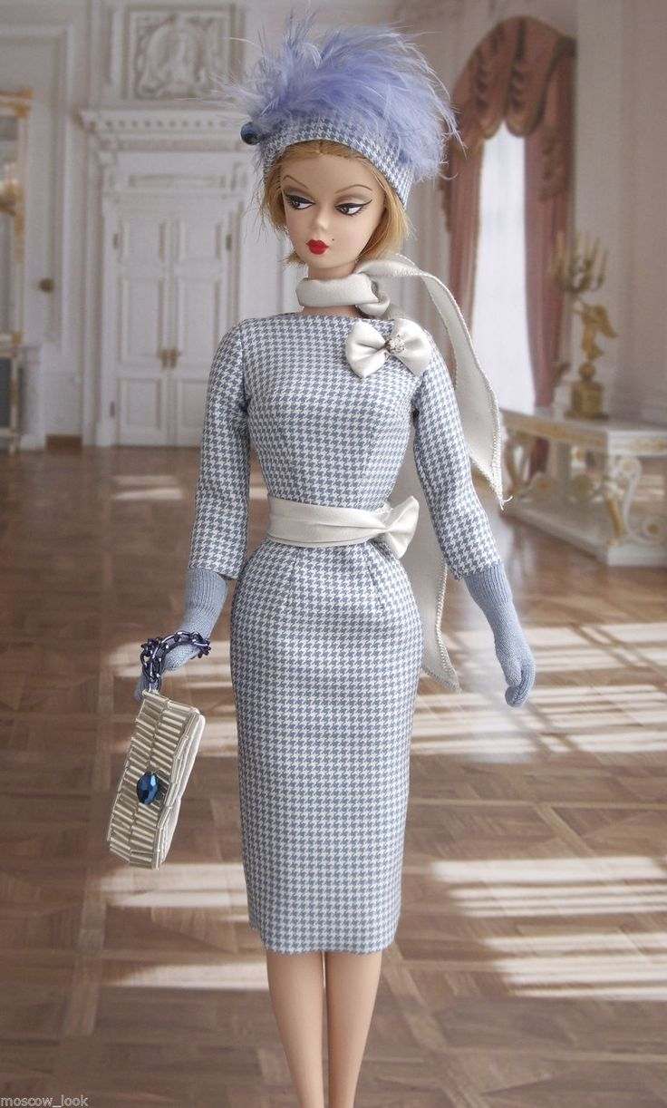 Moscow look ooak gown for silkstone barbie and fr fashion royalty barbie barbie dolls - Barbie barbie barbie barbie barbie ...