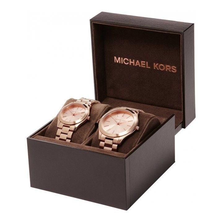 watchsupermarket.co.uk - Michael Kors Gift Set - Matching ...