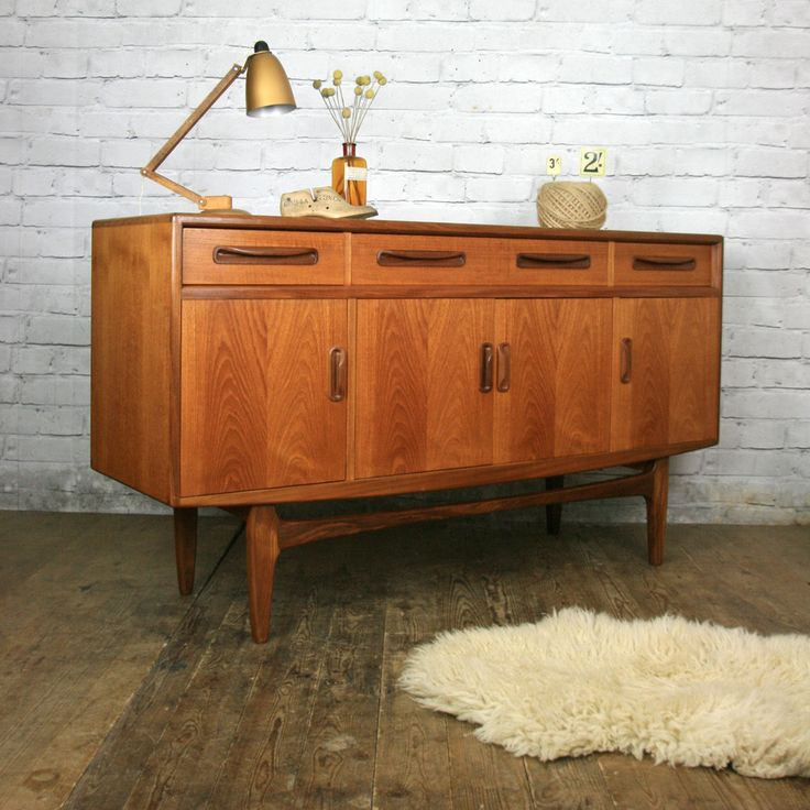 Vintage G Plan Fresco Teak Sideboard Furniture