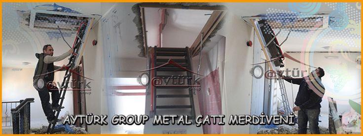 METAL TAVAN ARASI MERDİVENİ - http://www.catipencerefiyatlari.com/metal-tavan-arasi-merdiveni.html