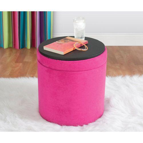 Your zone round storage ottoman, multiple colors - 25+ Best Ideas About Round Storage Ottoman On Pinterest Round