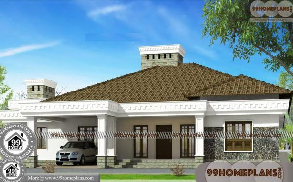 Beautiful One Story House Plans In 2020 House Arch Design Architectural Design House Plans Traditional House Plans