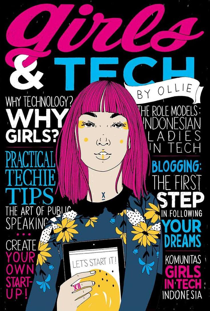 My new book Girls & Tech