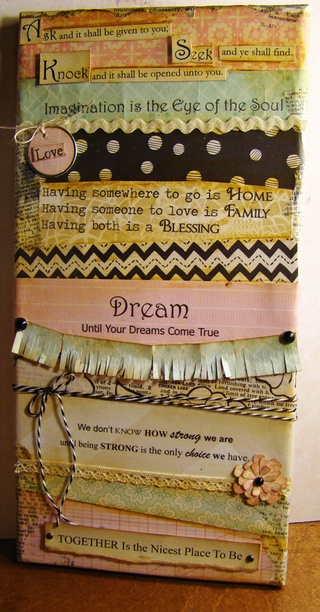 Inspirational Mixed Media by Melissa for Remember This