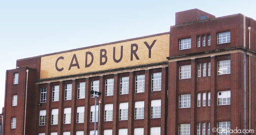 Cadbury Chocolate Factory in Birmingham, England