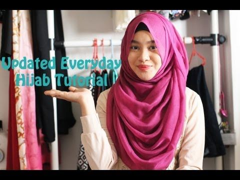 In My Shawls: Updated HIjab Tutorial (Maxi Shawl)