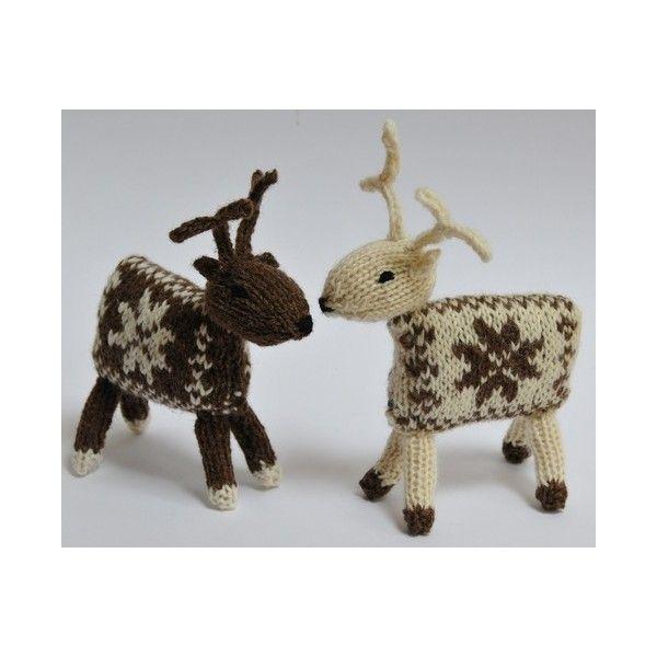 Kit tricot renne Nöel