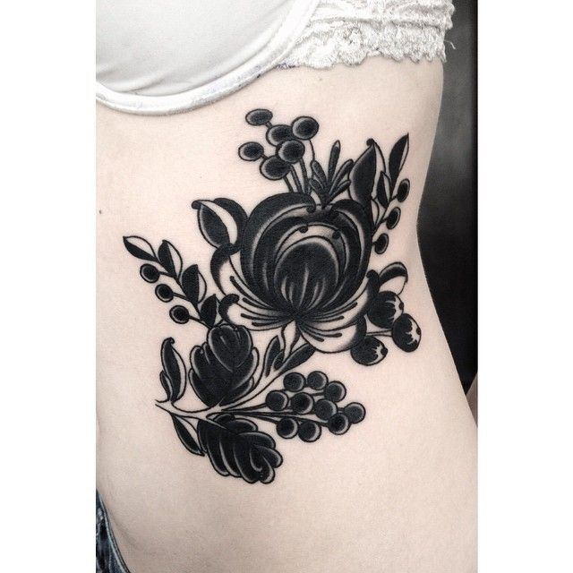 ukrainian flower tattoos - Google Search