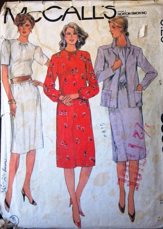 McCalls 8393 Pattern for lady's dress & by VictorianWardrobe, $4.00