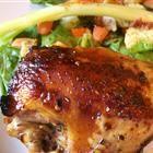 chicken marinato con aceto balsamico
