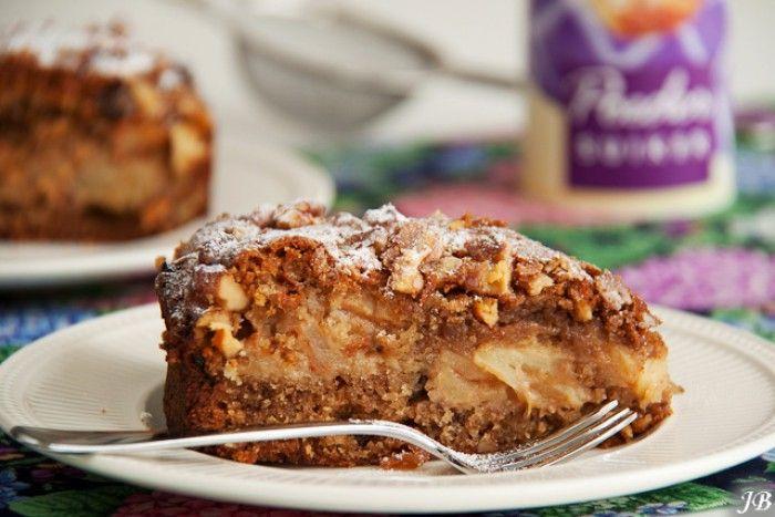 appel kaneel taart