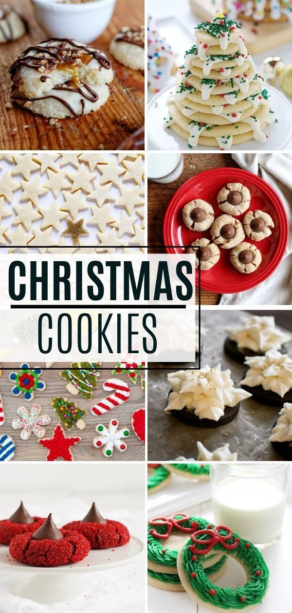 40 Best Christmas Cookie Recipes | I Am Baker in 2020 | Cookies
