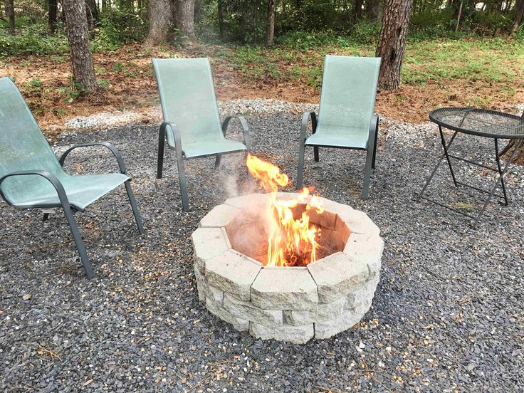 How to Make a DIY Fire Pit in Your Backyard - Building Our ...