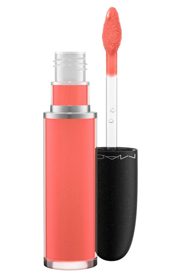 Absolutely loving this retro matte lip color by MAC. This coral shade is definitely a fave.