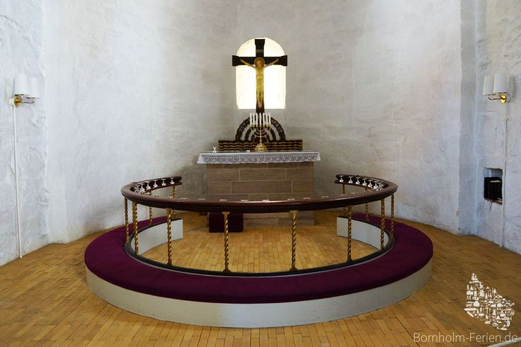 Altar der Sankt Bodils Kirche, Bornholm #bodilsker #bodilskirke #bodilskirche #kirche #kirke #bornholm #daenemark #altar