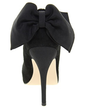 Carvela Jade Suede Heeled Shoe With Bow Back $123.13
