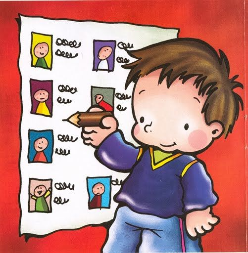 Imatges per fer els encarregats de classe.