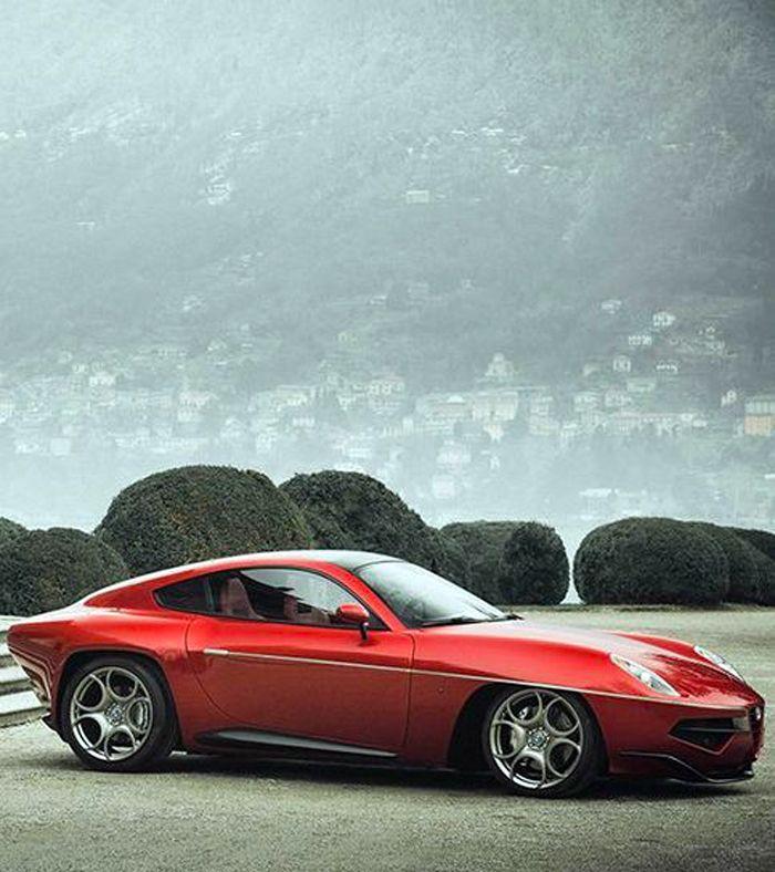 Alfa Romeo Disco Volante the perfect combination of European Supercar and American muscle, I'm in love