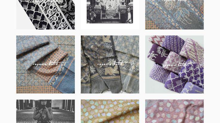 Rekomendasi Akun Instagram: Online Shop Kain Batik