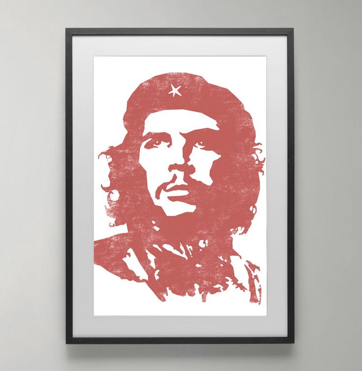 Che guevara inspirational posters revolution poster for Instant interior wall