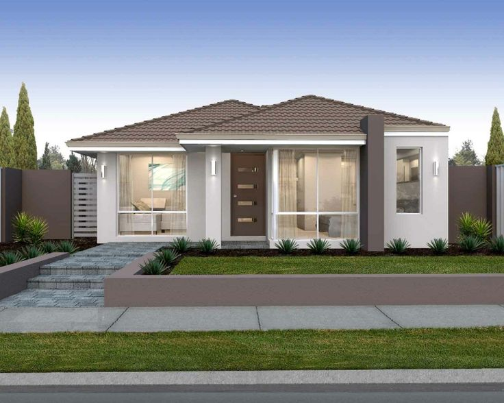 39 the aspire 39 elevation 10m frontage cottage living for 10m frontage home designs perth