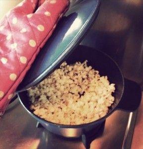 zelf popcorn maken, zo doe je dat! Kokosolie en bio pofmais