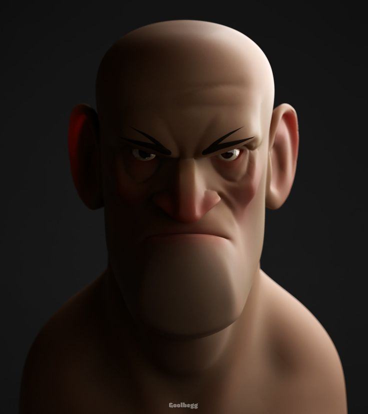 ArtStation - Grumpy Dude, Martin Guldbaek