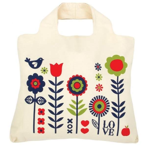 Modna eko torba na zakupy.