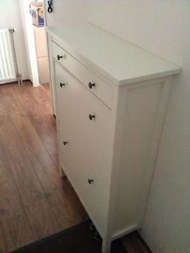 ≥ Ikea Hemnes schoenenkast wit - Kasten   Schoenenkasten - idee? voor op bijkamertje?