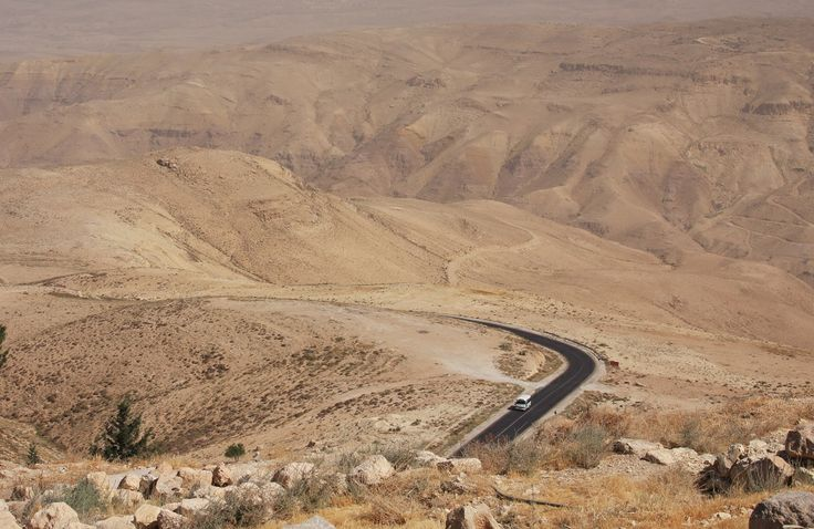 Jordan, view from mount Nebo