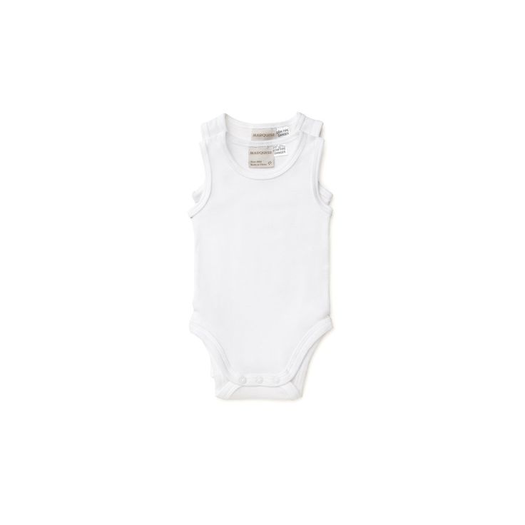 Marquise 2pk S/less Bodysuit White 000