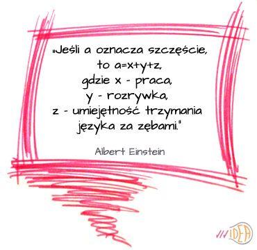 #Einstein, cytat