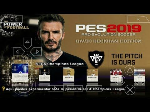 Download PES 2019 PSP iso for PPSSPP Android also available in