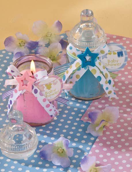 para baby shower en rosa y azul