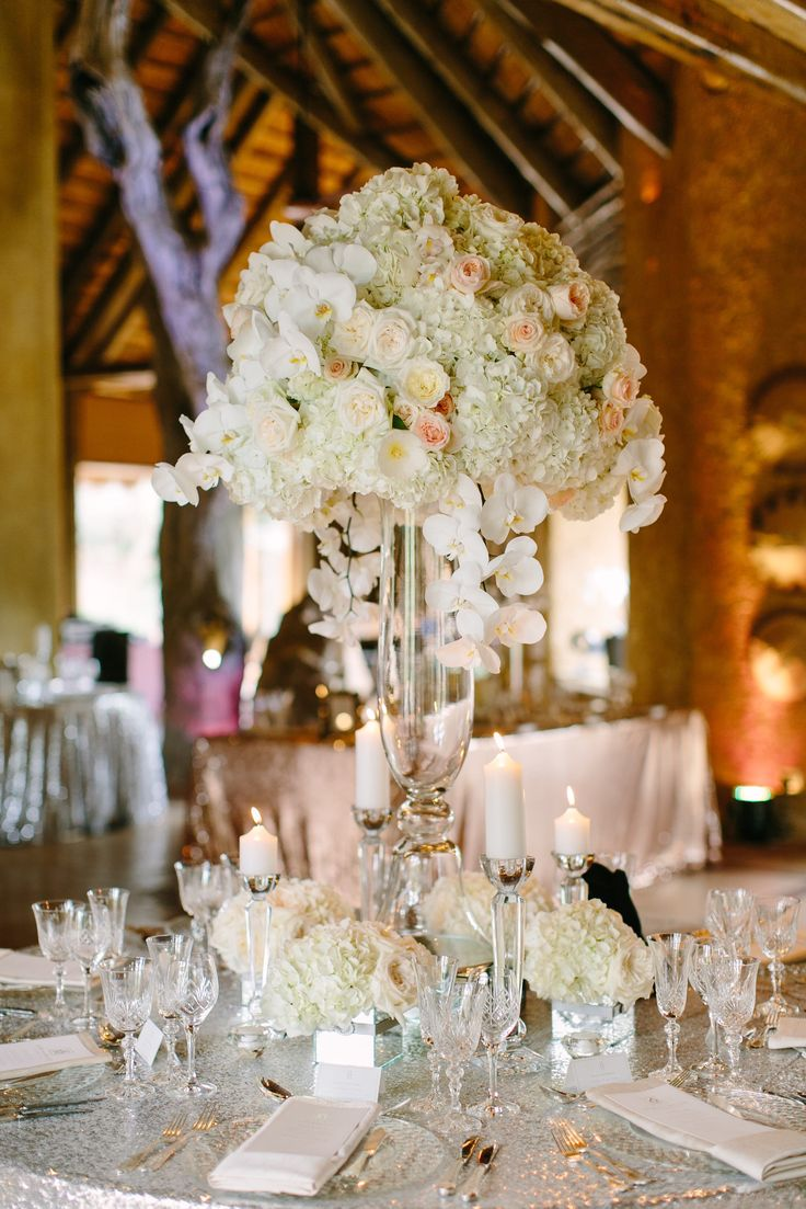 Zoe and Myles South African Luxury Safari Wedding, Mirror Seating Plan, Flowers, Floral Seating Plan, Hydrangeas, Orchids, Roses, Wedding Reception, All white wedding, Glamorous Wedding, African Wedding, Julia Winkler Photography, Absolute Perfection Wedding Coordination
