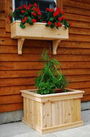Window Planter Box Ideas For A Garden Window Planter