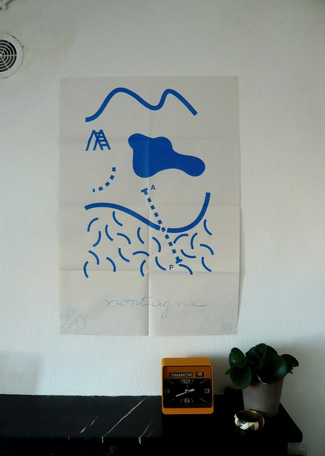 Montagne by BisePauline., via Flickr make a poster from part of o drawing monocromatic