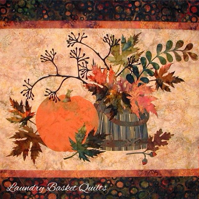 Laundry Basket Quilt of the Day - Fall Memories