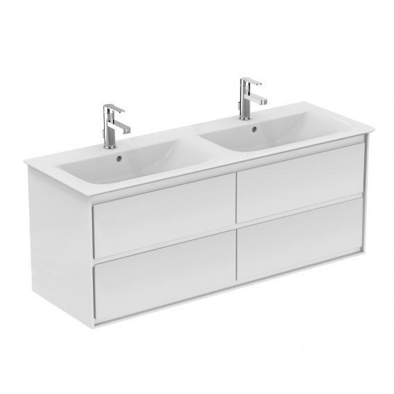 Ideal Standard Connect Air Waschtischunterschrank Fur Doppelwaschtisch Mit 4 Auszugen Front Weiss Glanz K In 2020 Waschtischunterschrank Unterschrank Doppelwaschtisch