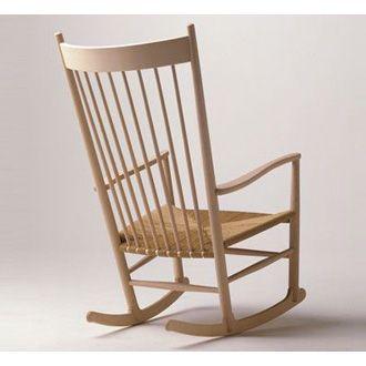 Hans J. Wegner J16 Rocking Chair