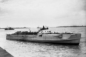 E-Boats were German versions of the American PT boat. They were a little faster at 50 knots and could travel much farther, 700 miles. In 1944, a squadron of E-Boats came across undefended American and British troops practicing for D-Day and launched an attack, killing 1000 American soldiers and a few Brits. In 1956 the British used captured E-boats manned by the same German crews to launch spy missions against the Soviet Union. No E-boats survive today but they were a masterpiece of design.