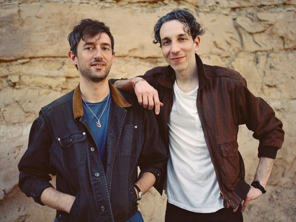From left, Jesse Cohen and Eric Emm of the band Tanlines.